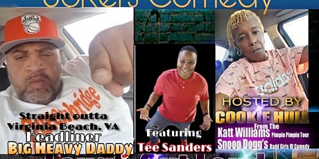"""THE PRIVATE I JOKERS COMEDY PRESENTS: """"BIG HEAVY DADDY"""" OUTTA VIRGINIA BEACH tickets"""