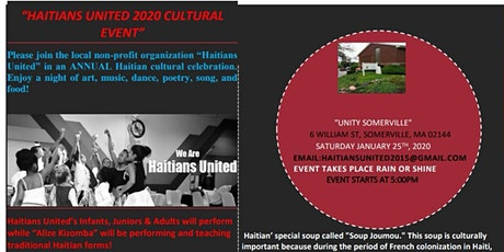 Haitian United 2020 - Cultural Event tickets