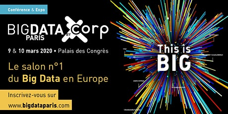 Big Data Paris 2020 billets