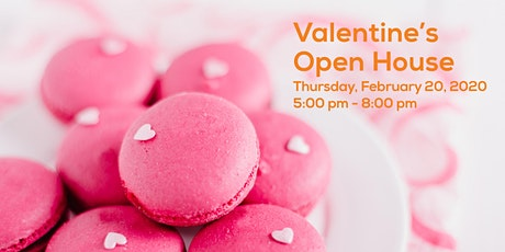 Valentine's Day Open House tickets