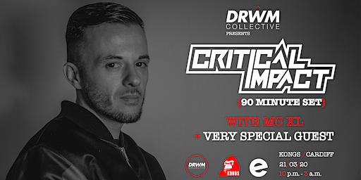 Drwm Collective presents: Ben Snow + Critical Impact (90 mins) w/ XL