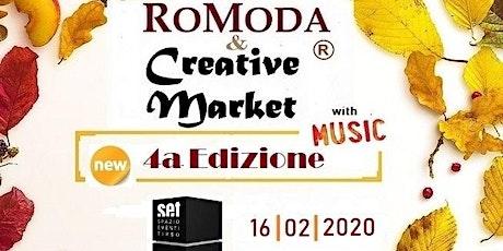 RoModa  & Creative Market | Music biglietti