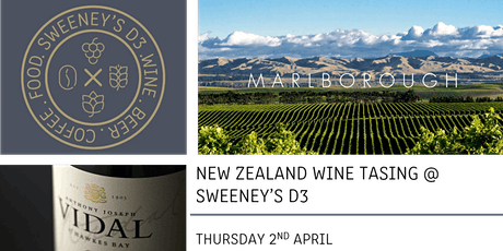 Wines of New Zealand Tasting @ SWEENEY'S D3 tickets