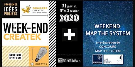 Weekend Createk - Édition hiver 2020 billets