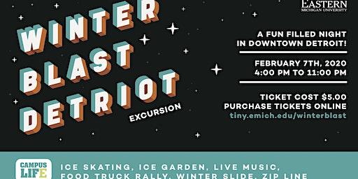 EMU Excursion to Detroit for Winter Blast