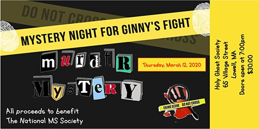Mystery Night for Ginny's Fight