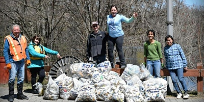 Great Saw Mill River Cleanup 2020: Great Hunger Memorial/Woodlands Lake, Irvington