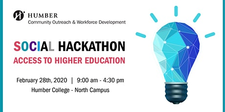 Access To Higher Education Social Hackathon tickets