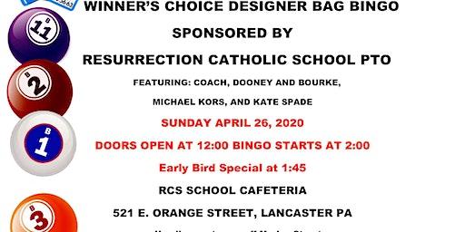 Winner's Choice Designer Bag BINGO!