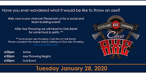 WTS Northeast Ohio Axe Throwing Social