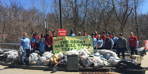 Great Saw Mill River Cleanup 2020: Liberty Coca-Cola Site, Elmsford