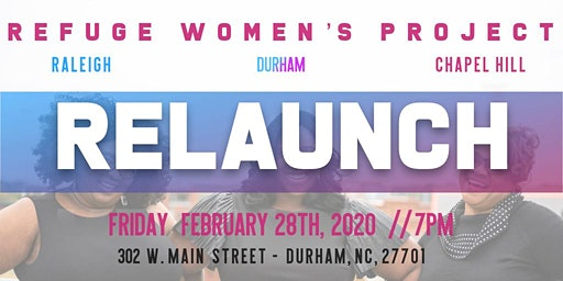 Refuge Women's Project Relaunch
