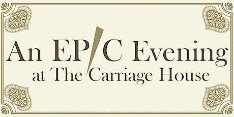Epic Evening at The Carriage House 2020 to benefit Hospice of Iredell tickets