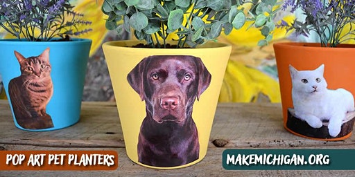 Pop Art Pet Planters - Portage