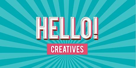 Hello! Creatives Linkedin Training tickets