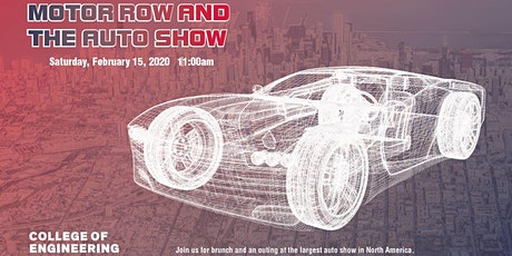 2020 Motor Row and Auto Show tickets