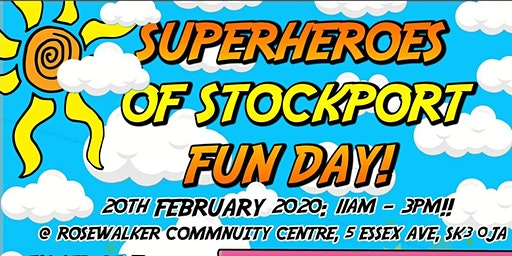 Superhereos of Stockport Fun Day!