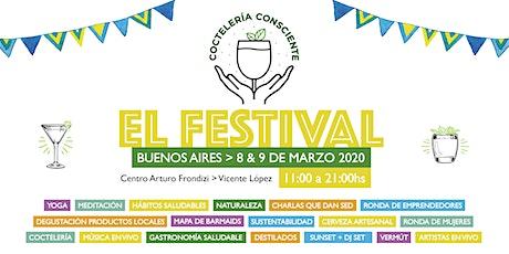 Festival Coctelería Consciente 2020 entradas