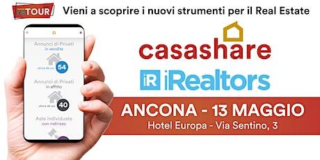 Aula formativa con Casashare ed iRealtors ad Ancona biglietti