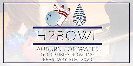 Auburn for Water H2Bowl Bowling Tournament