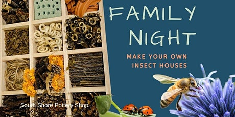 FAMILY NIGHT - Make Your Own Insect House & Pizza Party tickets