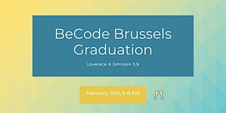 BeCode Brussels - Graduation Ceremony billets