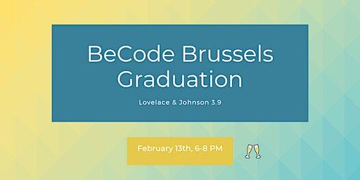 BeCode Brussels - Graduation Ceremony
