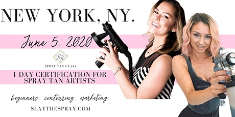 Spray Tan Training | Slay the Spray Sunless Tour New York, NY tickets