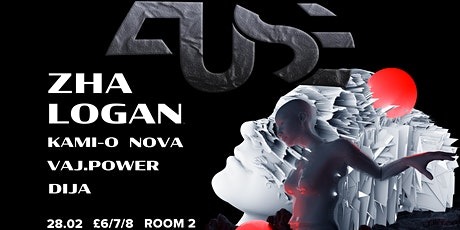 FUSE w/ Zha x Logan tickets