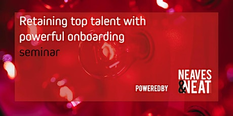 Retaining top talent with powerful onboarding seminar tickets