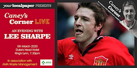 An Evening with Lee Sharpe (Your Local Paper presents Caney's Corner Live) tickets