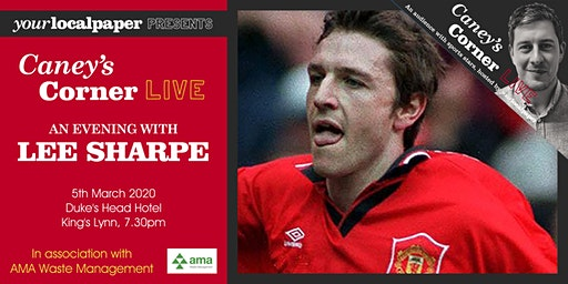 An Evening with Lee Sharpe (Your Local Paper presents Caney's Corner Live)