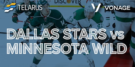 Dallas Stars Game with Telarus and Vonage! tickets