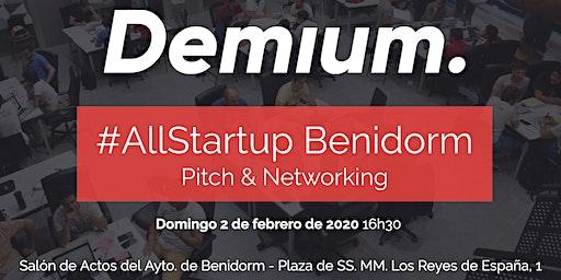 Pitch & Network #AllStartup Benidorm