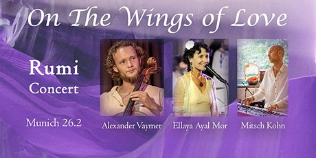 """On the Wings of Love"" – Rumi concert Tickets"