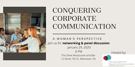 Conquering Corporate Communication: A Woman's Perspective tickets