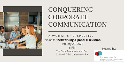 Conquering Corporate Communication: A Woman's Perspective