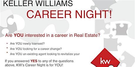 Keller Williams Preferred Partners Career Night tickets