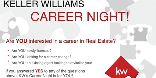 Keller Williams Preferred Partners Career Night