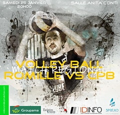 ROMILLE VOLLEY Vs CPB RENNES billets
