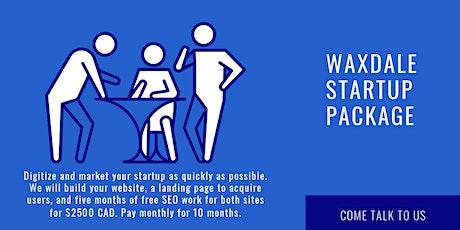 Pitch to digitize and market your startup quickly (Monday to Sunday 5 pm). billets