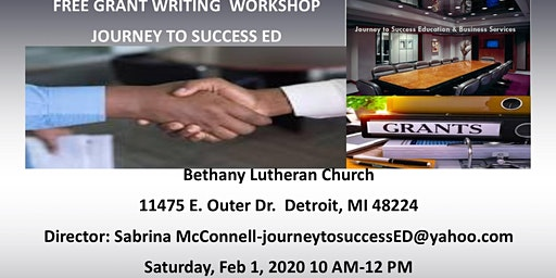 Free Grant Writing Workshop:The beginning process