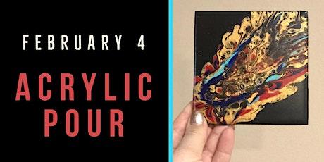 Acrylic Pour Workshop - Create Art on Tuesdays tickets