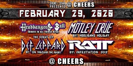 Def Leppard / Motley Crue / RATT /Headbangers Ball Tribute Bands tickets