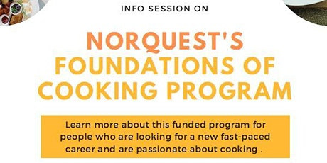 Foundations of Cooking Program Info Session tickets