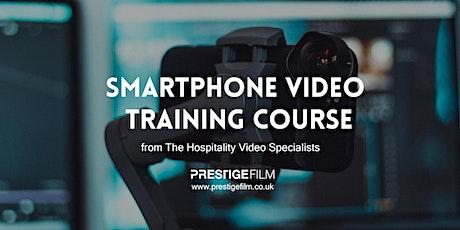 Smartphone Video Training for Hospitality Social Media tickets