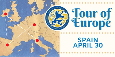 2020 Tour of Europe Dinner: Spain tickets