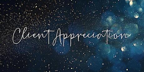 Client Appreciation Night tickets
