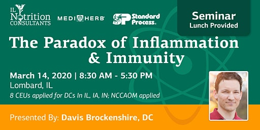 The Paradox of Inflammation and Immunity - Presented by Davis Brockenshire