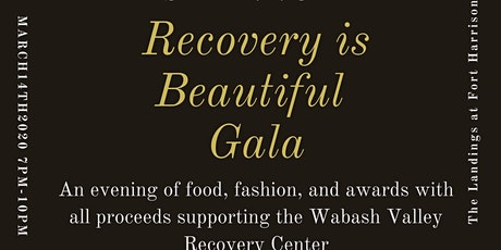 Recovery is Beautiful Gala tickets